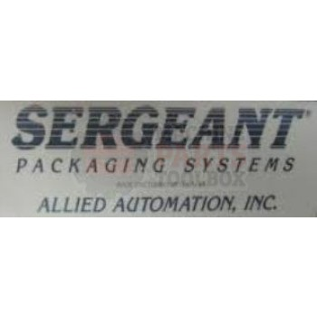 Allied Sergeant - Belt, Tunnel Conveyor, 110C, 220C, 92016BC, 920BC - # 235165 Shrink Machine Parts - Machine Parts Toolbox