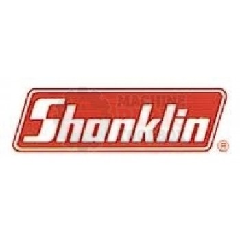 "Shanklin -44"" RED SILICONE BOTTOM JAW PAD 1/2 THK, 7/8' W. W/ 1/16"" GROOVE-SPA-0030-006"