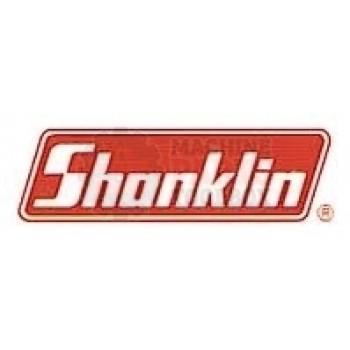 """Shanklin -HOSE, GRAY ON BLACK, 3"""" ID-RU-0073"""