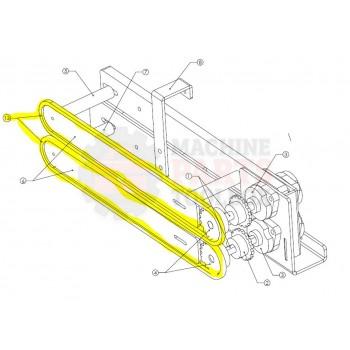 Texwrap - Scrap Chain for 2218, 2219, 3022 - # 80-SP109C