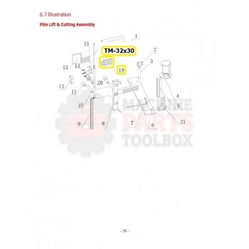 Eagle - Film Heating Cylinder - # TM-32x30