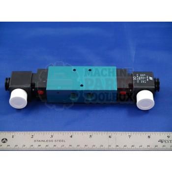 Shanklin - 3 Position Solenoid Valve 120V A/C - # VA-0022B