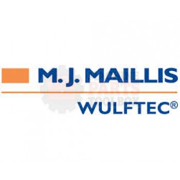 "Wulftec - Roller 19.25"" X 1.66""Od X 0.09"" Wall W/Shaft 15MM, 1/4 Unc - # 0MROL00038 *Contact MPT for pricing and lead time.*"