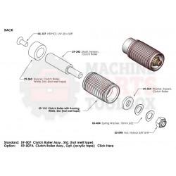 Dekka - Clutch Roller Assy - 59-007A