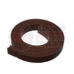 """Shanklin - 1/2"""" x 7/8"""" x 3' Brown Seal Pad - # RU-0054"""