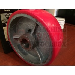 "ITW - Drive Wheel 6"" x 2"" Signode SG210, SG215, ITW LG20 - # 40-54016-001 - Stretch Wrapper Parts - Machine Parts Toolbox"