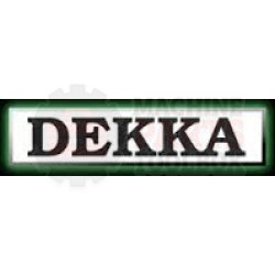 "Dekka - 3"" Wipe Down Roller Assembly- 59-024-M1"