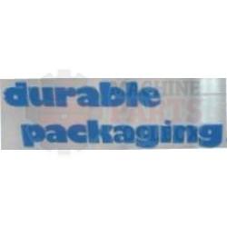 "Durable - 2"" Pressure Roller - 704"