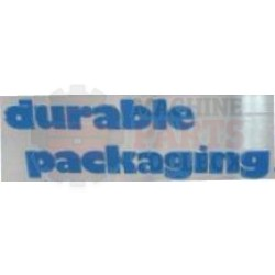 "Durable - Belt for RA-4, RM-3 Standard 89"" - 410-102"