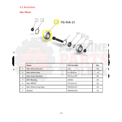 Eagle - Idler Wheel - # FG-01A-21