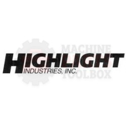"Highlight - Roller Assembly, Rear 2"" CT215100, 700468 stretch wrapper"