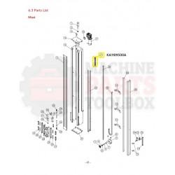 Eagle - Aluminum Rails - # KA1109500A