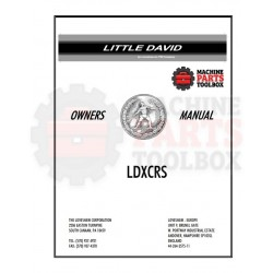 Loveshaw - LDX CRS - Manual and Parts Drawings