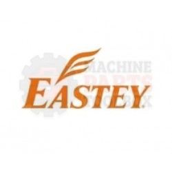 """Eastey - 1"""" Straight White Bead"""