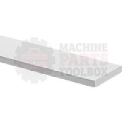 "Pad - 1/4"" x 1"" Silicone Rubber Pad RU16169 , 573-70-03 , 10052"
