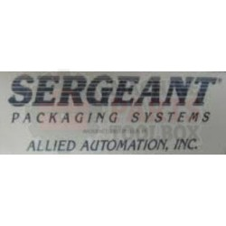 Sergeant - Allied Automation - Blower Motor - # 452000