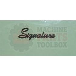 Signature - Arm, Plate Short - T-0566