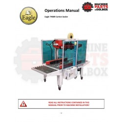 Eagle - Eagle T400R Carton Sealer - Manual and Parts Drawings