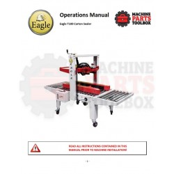 Eagle - Eagle T100 Carton Sealer - Manual and Parts Drawings