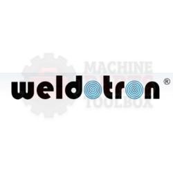 "Weldotron - White Silicone Covered Tunnel Roller 20"" - 73000571P1-WHITE"