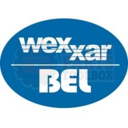 Wexxar - Caster Plate Rear Z25-343 - 25-343