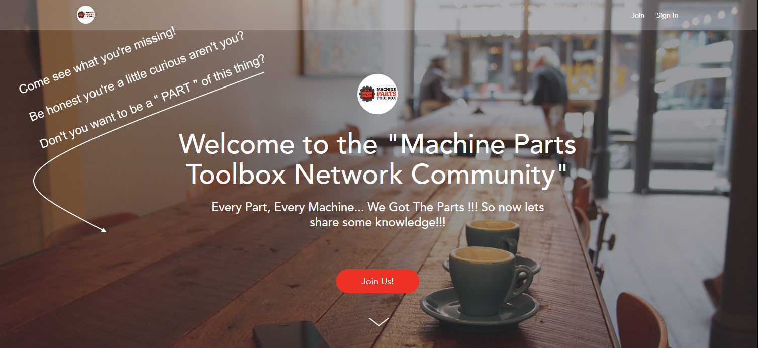 Join Us! Come Explore the Network