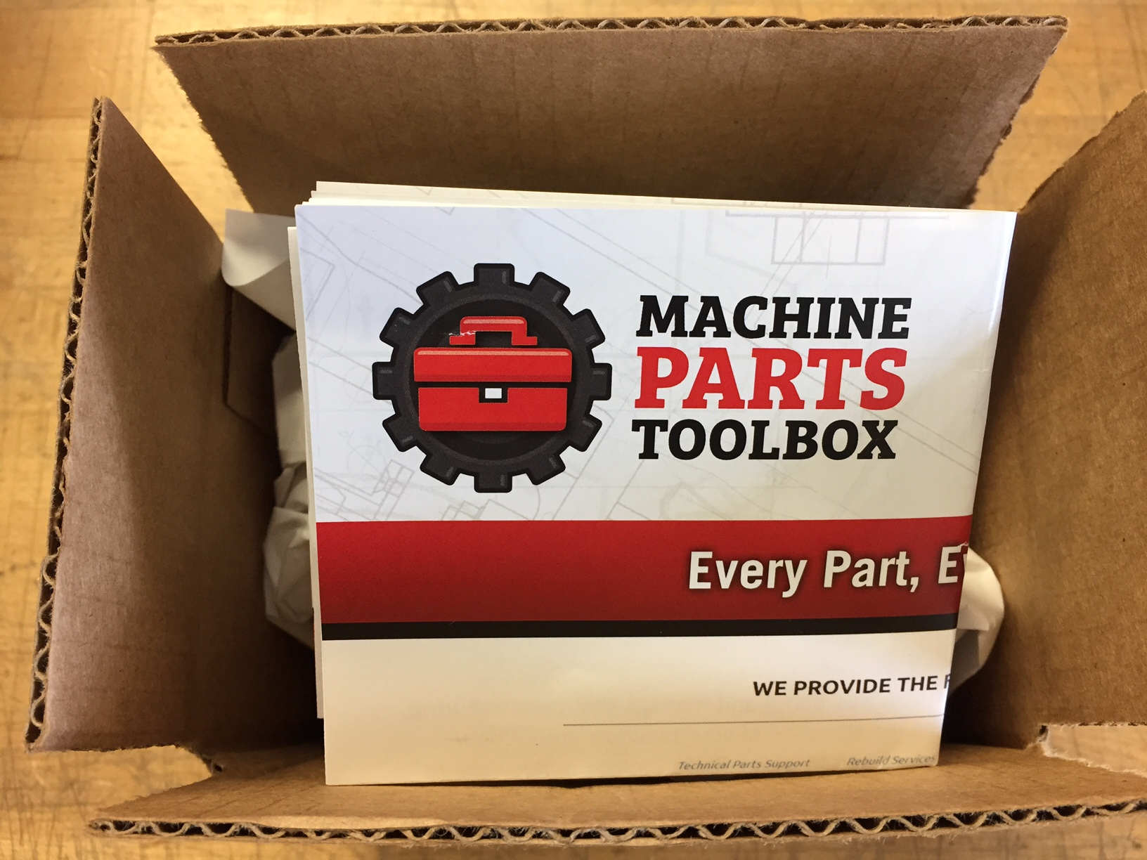 Machine Parts Toolbox - Easily Spotted Parts