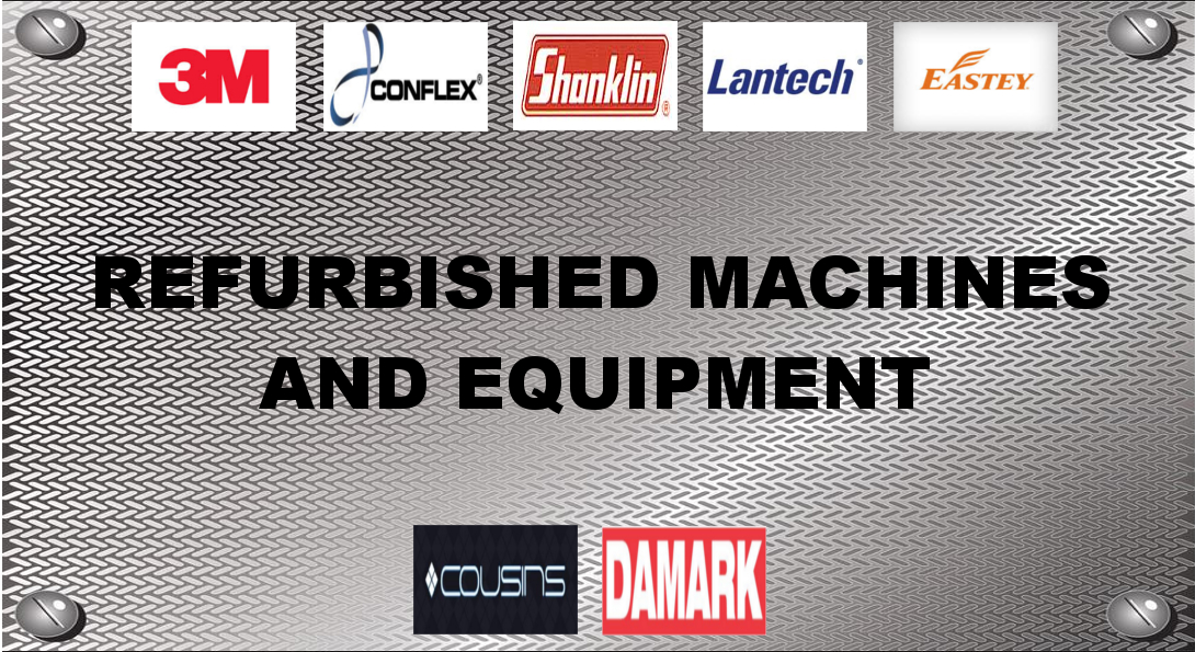 Refurbished Packaging Machines and Equipment